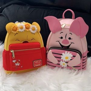 Loungefly Disney's Piglet And Pooh backpacks!
